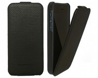 PCARO Leather Jazz черный чехол для Apple iPhone 5 / iPhone 5S